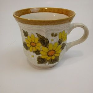 Vintage Mikasa Sunny Side Cup FLAWED